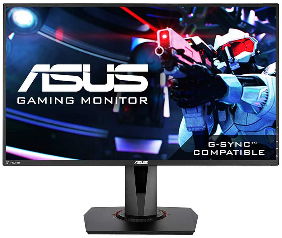 Asus VG278Q Front screen: Reviewsgarage