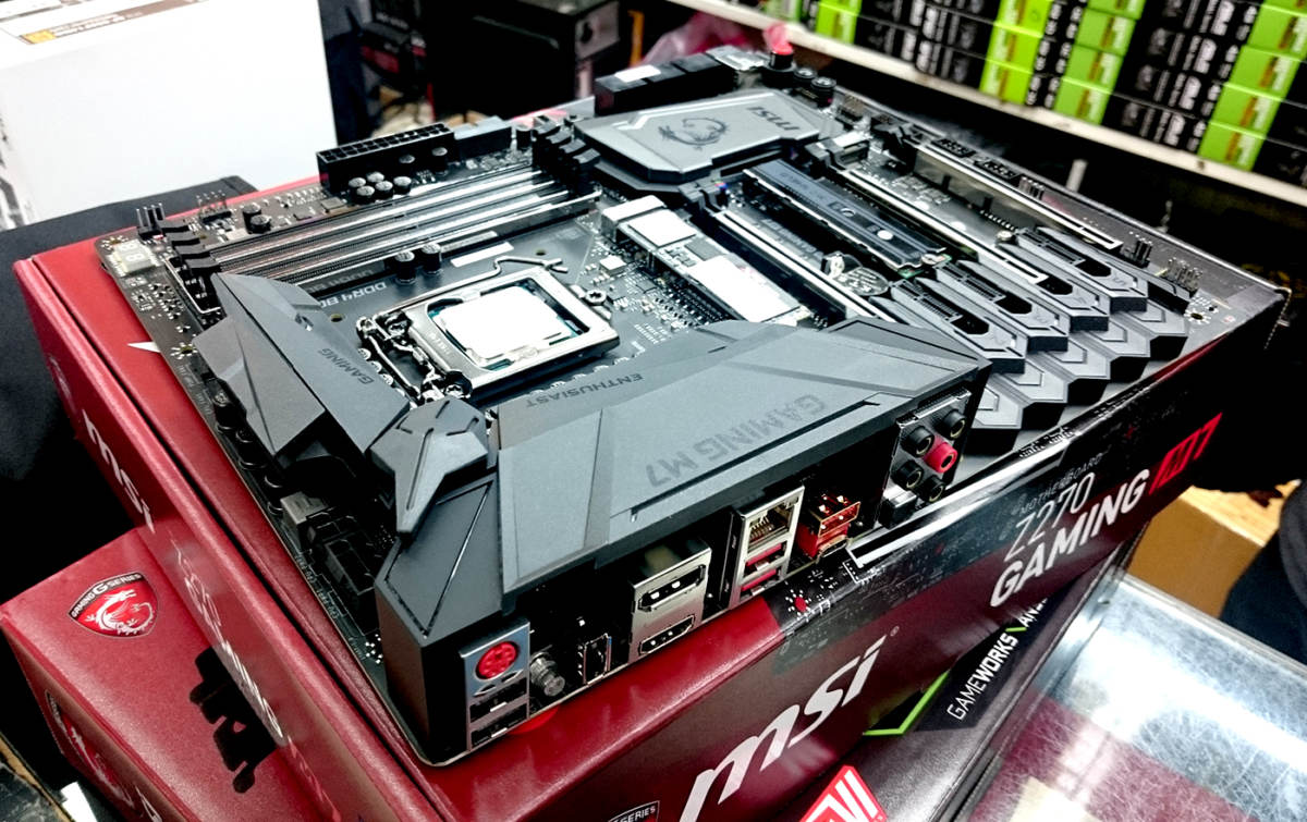 Motherboards with M.2 slots